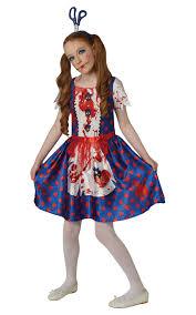 scary girl costumes rag doll costume ebay