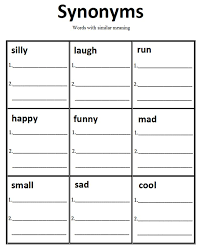 20 best synonyms antonyms images on pinterest word work
