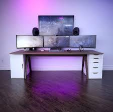 Ikea Gaming Desk Minimalsetups Them Pixels Source Unboxtherapy Follow Minimal