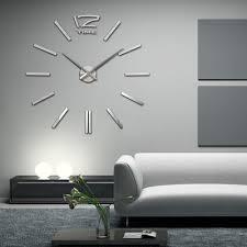 home decor bargains interior arrival home decor quartz diy wall clock large clocks