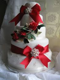Christmas Wedding Cakes Picture Of Adorable Christmas Wedding Cakes