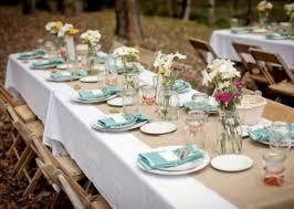 photo stunning round outdoor settings 50 romantic wedding table