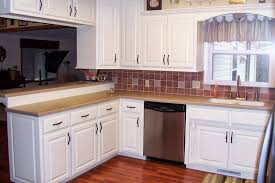 kitchen beautiful white kitchen backsplash tile ideas with white