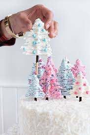 How To Decorate A Birthday Cake The 25 Best Christmas Cakes Ideas On Pinterest Christmas