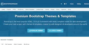 bootstrap sites templates affiliate programs for bootstrap users