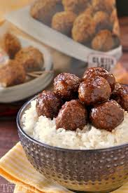 slow cooker cocktail meatballs mom on timeout
