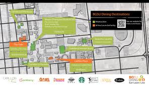 Ohio State University Campus Map by Dine On Campus At Bowling Green State University