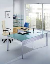 table de bureau en verre bureau professionnel table de travail et meubles modules 4most