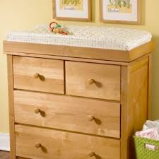 White Wood Changing Table Badger Basket Sleigh Style Baby Changing For