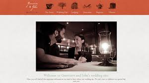wedding site 30 creative wedding websites for your design inspiration