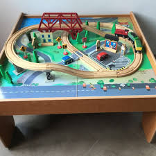 imaginarium train set with table 55 piece imaginarium train set with table 55 pieces babies kids toys