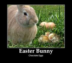 origin of the easter bunny and laying chocolate eggs easter