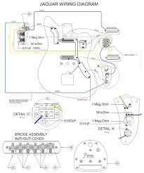 fender jaguar wiring diagram fender wiring diagrams instruction
