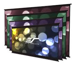 amazon com elite screens diy wall 2 series 135 inch 16 9 do it