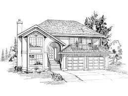 split level home plans sannois split level home plan 062d 0082 house plans and more
