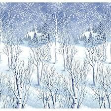 amazon com winter wonderland scene setters plastic room rolls