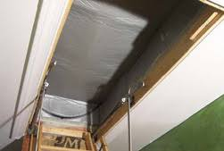 do you have a leaky u0026 poorly insulated pull down attic stair