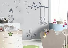 chambre enfant papier peint chambre bebe papier peint garcon exceptional 3 d coration pour leroy
