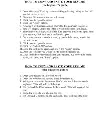 Copy Of Resumes Copy Of A Resume Format Haadyaooverbayresort Com