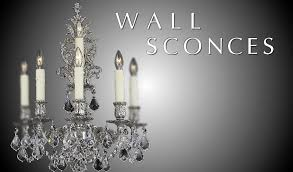 Chandelier Wall Sconce Brass U0026 Crystal Chandelier Fine Lighting American Brass U0026 Crystal