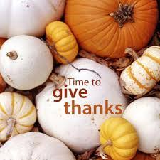 a thanksgiving message re max professionals real estate