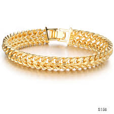 classic link bracelet images Classic men 39 s curb chain gold link bracelet for men jewelry gift jpg