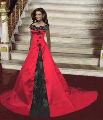 Red And Black Wedding Gothic Wedding Dresses Ideas