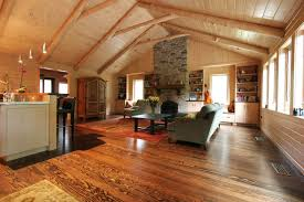 Dexter Log Home Addition And Remodel Traditional Family Room - Family room remodel