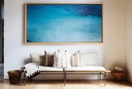 Decorating Living Room Wall Decorate Tour Fashion Designer Jenni Kayne U0027s Home