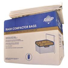 Household Trash Compactor Whirlpool 15 In Plastic Compactor Bags 60 Pack W10165294rb