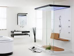 Open Bathroom Design Open Shower Bathroom Design Of Fine A Modern Doorless Shower In
