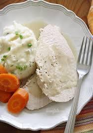 cooker turkey breast with gravy skinnytaste