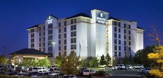 Comfort Suites Denver International Airport Embassy Suites Denver International Airport Hotel