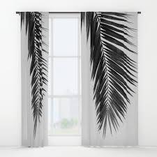 palm window curtains society6