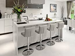 modern kitchen bar stools bar stools beautiful white marble open concept kitchen breakfast