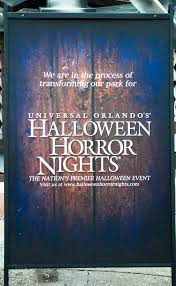 halloween horror nights 2015 tickets halloween horror nights construction update ride vine