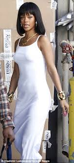 arabic nameplate necklace hollynolly rihanna embraces a more style as she gears up