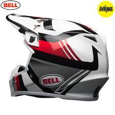bell motocross helmets uk 2018 bell mx 9 mips helmet marauder white black red