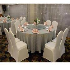 white banquet chair covers polyester wedding chair covers ebay