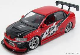 mitsubishi evolution 1 jada 97179 scale 1 18 mitsubishi brian u0027s lancer evolution 8 2004