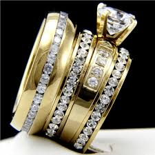 his and hers wedding ring sets wedding ring sets for him and macy s wedding ring sets his n