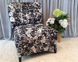 Accent Chair Slipcover Slipper Chair Cover Etsy