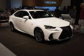 lexus sport 2017 inside 2017 lexus is makes north american debut autoguide com news