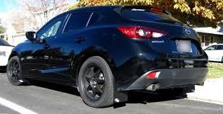 mazda 3 hatchback mazda3 hatchback 2014 rally mud flaps rokblokz
