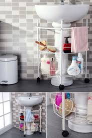 bathroom storage ideas sink 30 amazingly diy small bathroom storage hacks help you store more