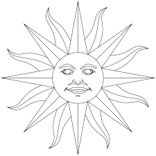 inti incan god of sun inca empire coloring page history free