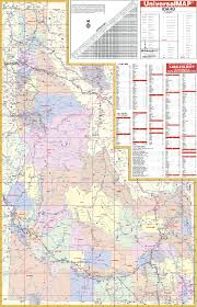 map of idaho cities idaho map with cities and counties map