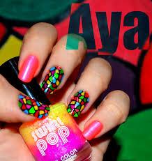 gel nail polish neon colors nails gallery