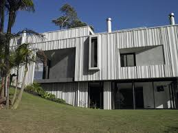 modern house ushers in industrial style with raw concrete and