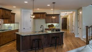 Advanced Kitchen Design River Birch With 3 Car Garage By Hammett Homes